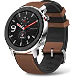 Amazfit GTR Stainless Steel Smartwatch with...