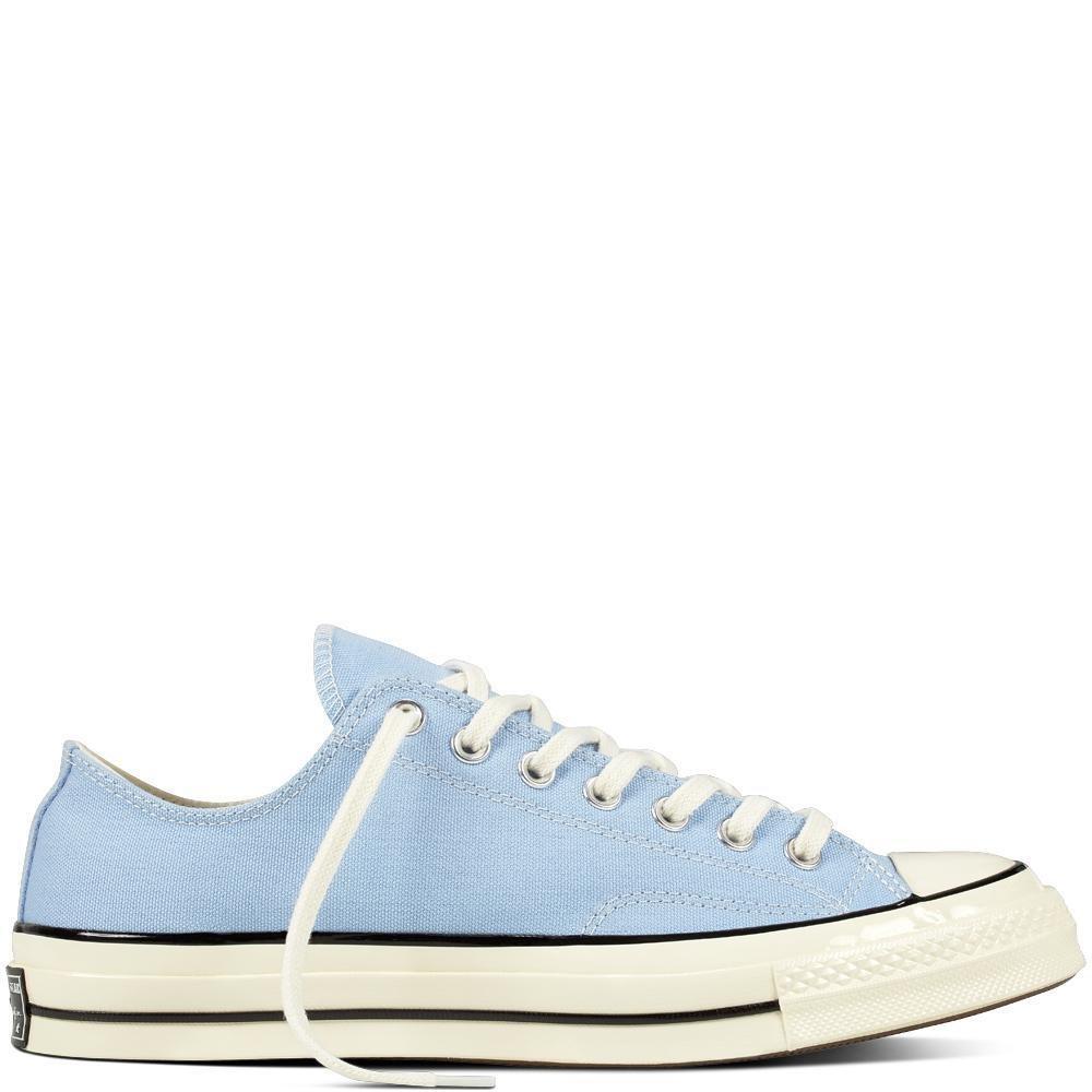 Converse Chuck Taylor '70 OX - Blue CHILL/Black/EGRET - Size 10.5
