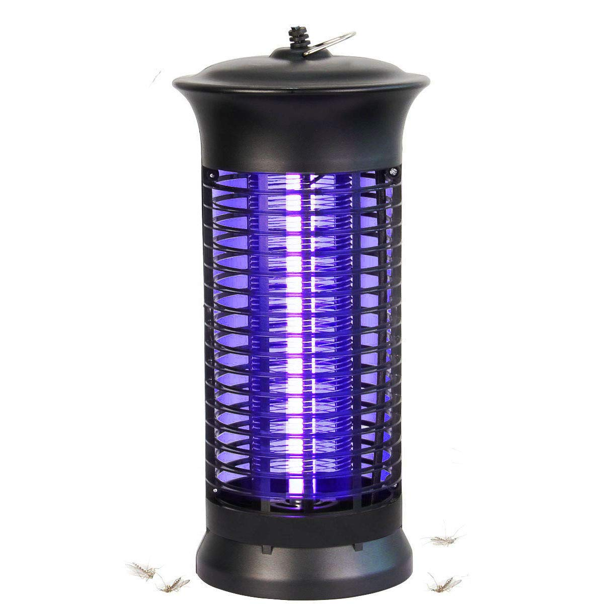 Bug Zapper, Electronic Mosquito Killer UV Light Lamp High Voltage 1000V Mosquito Killing Insect Fly Zapper for Indoor Bedroom Living Room Use