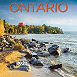 Ontario 2020 7 x 7 Inch Monthly Mini Wall Calendar, Canadian Regional Travel Canada (English and French Edition)