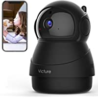 [2021 Upgraded] Victure 1080P Pet Camera, Wi-Fi IP Camera, Indoor Security Camera for Pet/Baby/Elder, 2.4G Home Camera…