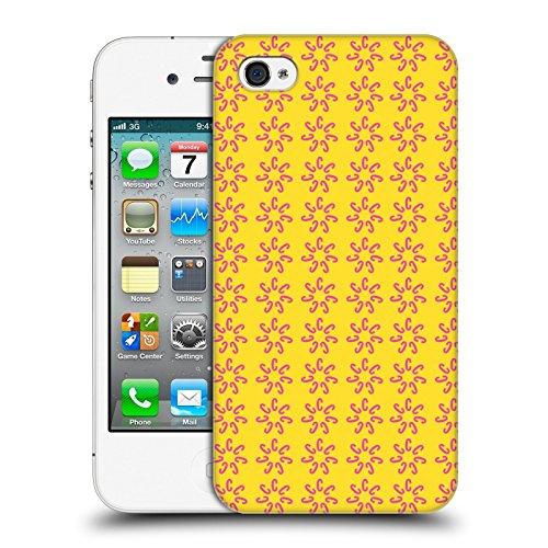 Official Cosmopolitan Pink Pattern 1 Logo Hard Back Case for Apple iPhone 4 / 4S