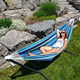 Vivere UHSDO9-33 Double Cotton Hammock with Space