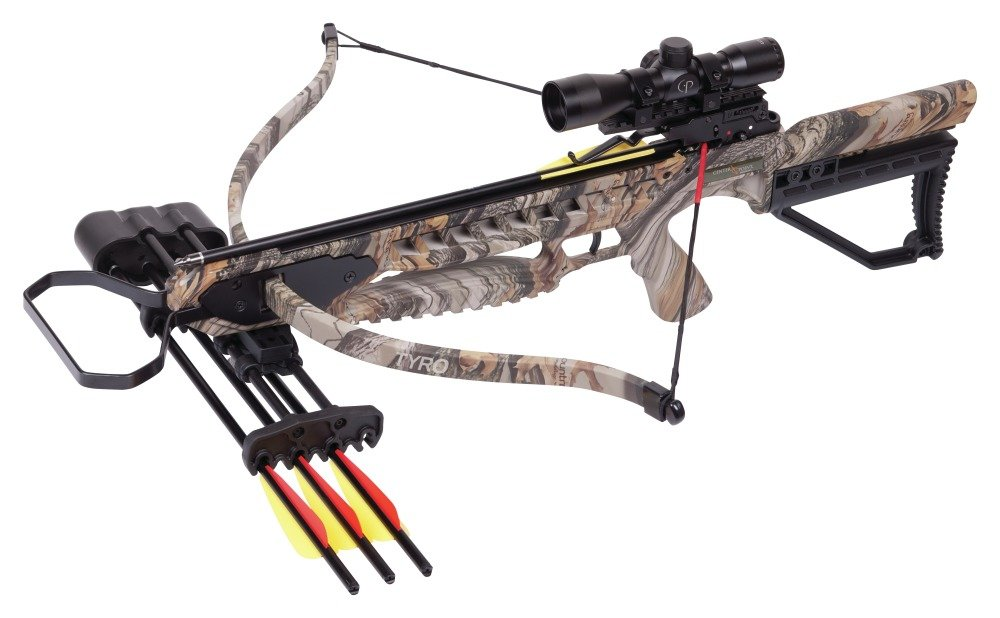 CenterPoint Tyro 4X Crossbow Camo Camouflage- Crossbow Package by CenterPoint