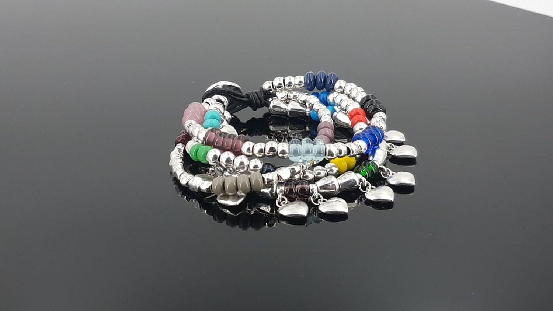 silver bracelet uno de 50 style bracelet handmade wrap bracelet spanish bracelet boho bracelet zamak bracelet