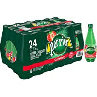 Perrier 24-Pack of 16.9 Fl Oz Strawberry Flavored Carbonated Mineral Water