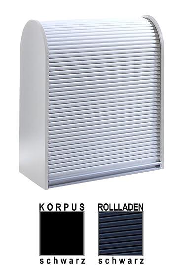 Klenk Dancer Collection   Universalschrank   Korpus: Schwarz / Rollladen:  Schwarz