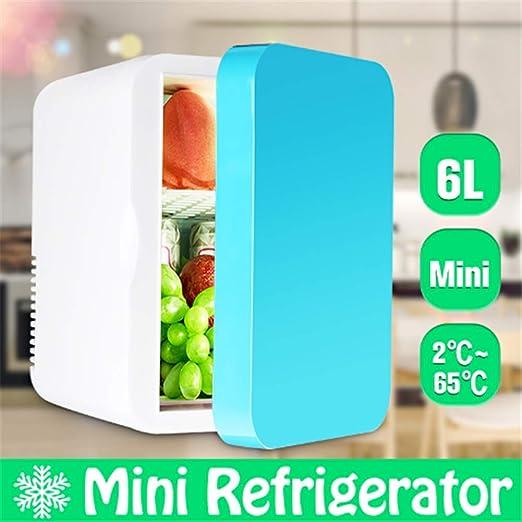 LJHJH Portátil 6L Mini Coche/casa refrigerador 2~65 Grado fría ...