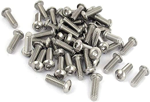 "Stainless Steel 1//4/""-20 Hex Nut 18//8 304 50 Pack"