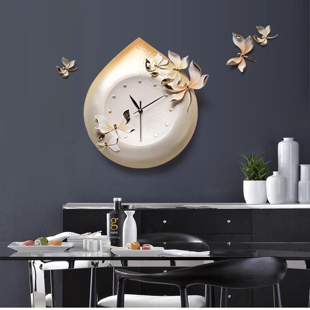 時計 掛け時計 リビング 現代ファッション シンプル 超シズネ おしゃれ 掛時計 壁掛け リビング 飾り 現代 欧風 SFANY B07CN2CK9X タイプ2 タイプ2
