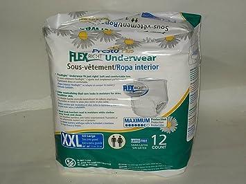 """Presto Plus Underwear Flexright Fit - Pack / 12 (2XL (68"""" - 80"""""""