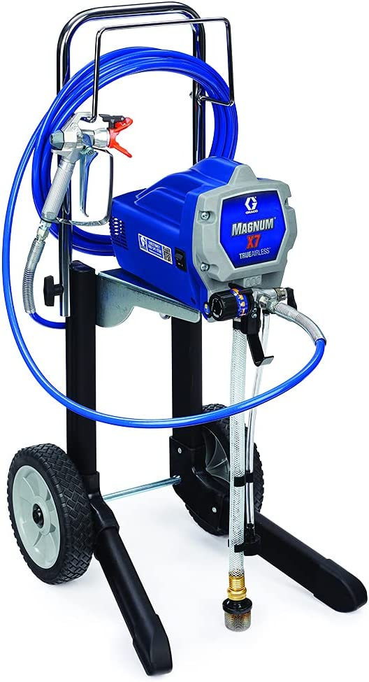 Graco Magnum X7 Cart Airless Paint Sprayer – Best Airless Paint Sprayer