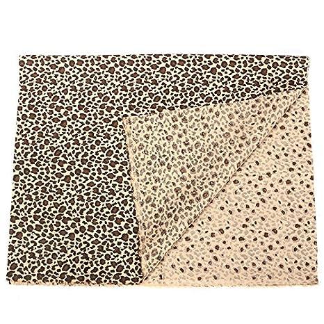 Striscia Di Tessuto.Ology R Leopard Stampa Striscia Di Tessuto Patchwork Di