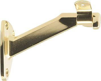 Brass Richelieu Hardware 2284BV Extended Arm Heavy-Duty Handrail Bracket