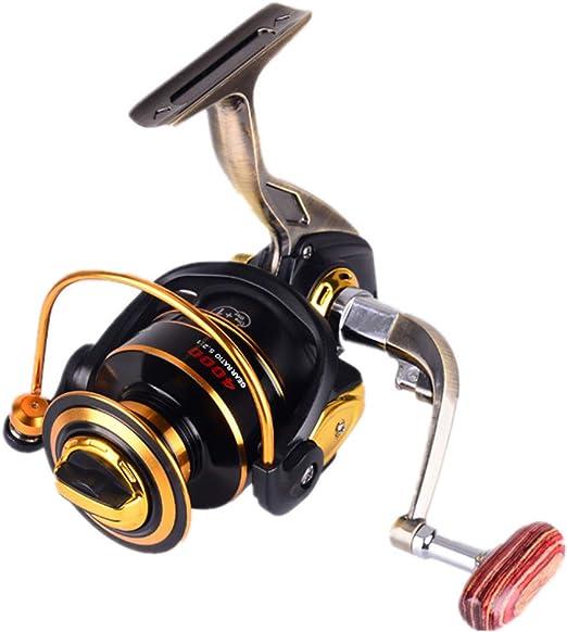 Carrete de pesca Spinning Fishing Reel 12 + 1 Rodamientos ...