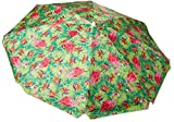 Leoma Lovegrove Soiree Beach Umbrella One Size Green/pink/orange/blue