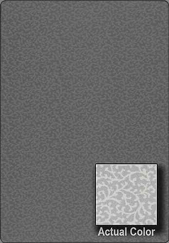 Imagine Bridgewater Gray Cloud Transitional Scrolls 7 8 x 10 9 Milliken Area Rug 6463 by RugLots