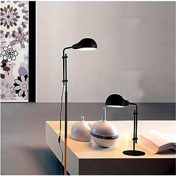JGWJJ Lámpara de pie de lectura y manualidades LED, para ...