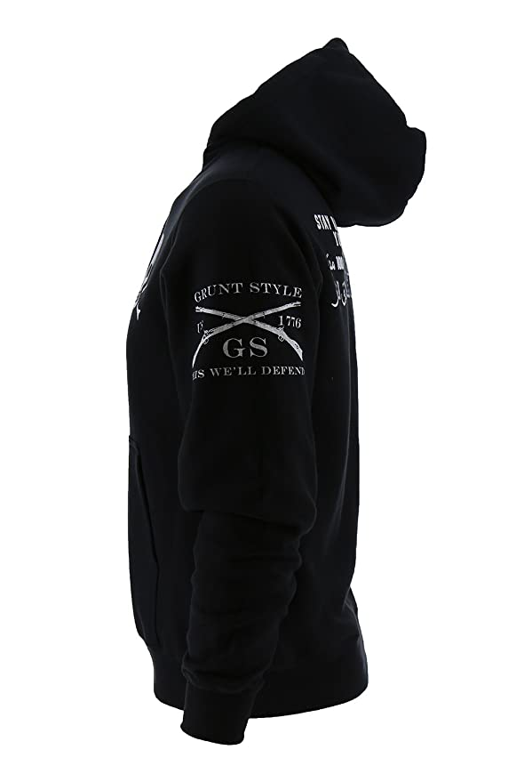 e515580358c2d Amazon.com: Grunt Style Stay Back Men's Hoodie: Clothing