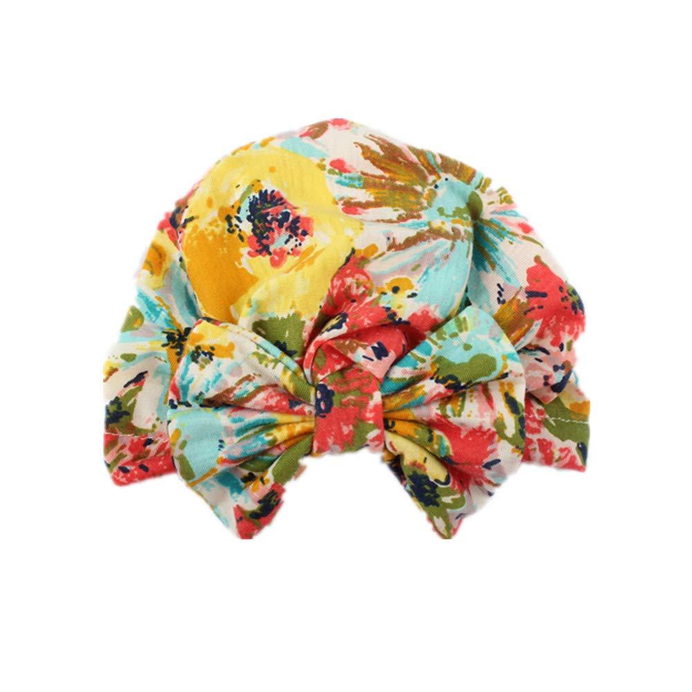 Lonshell 1 Pieza Reci/én Nacido Ni/ñito Ni/ños Beb/é Chico Ni/ña Chica Turbante Gorro Sombrero Headwear Pa/ñuelo Gorras para beb/é