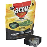 d-Con Corner Fit Mouse Poison Bait Station with 1 Station and 12 Refill Baits