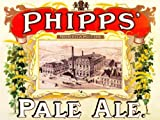 ADVERTISING DRINK ALCOHOL PHIPPS PALE ALE NORTHAMPTON ENGLAND UK BREWERY 30X40 CMS FINE ART PRINT ART POSTER BB7390