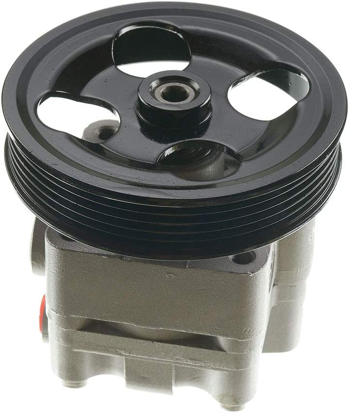 A-Premium Power Steering Pump Without Reservoir Compatible with Subaru Baja Legacy Outback 2002-2006