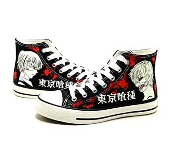 Tokyo Ghoul Kaneki Ken Cosplay Shoes Canvas Shoes Sneakers Luminous 1