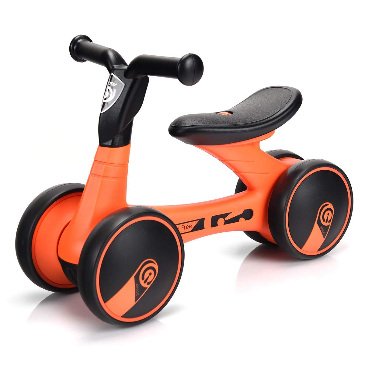 Tu satisfacción es nuestro objetivo Bici del Equilibrio del bebé, Bicicleta Bicicleta Bicicleta del Empuje sin el Pedal, Seguro y cómodo para los niños, Mini Entrenamiento Cuatro Ruedas Walker, Estructura Estable, Primera Bici  de moda