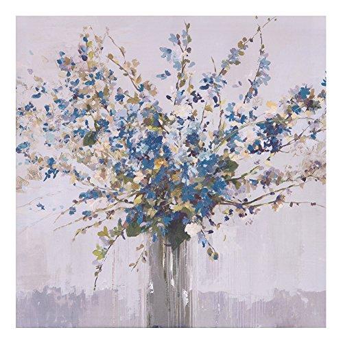 - Patton Wall Decor Blue Bouquet Floral, 18