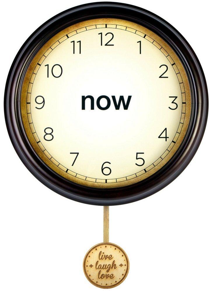 Now Clock: The Time is Now