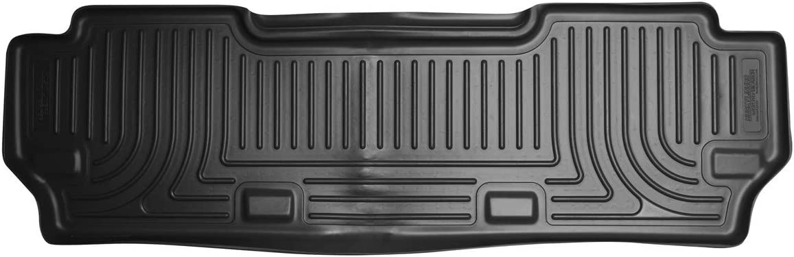 Black Husky Liners Custom Fit WeatherBeater Third Seat Floor Liner Set for Select Toyota Sienna Models