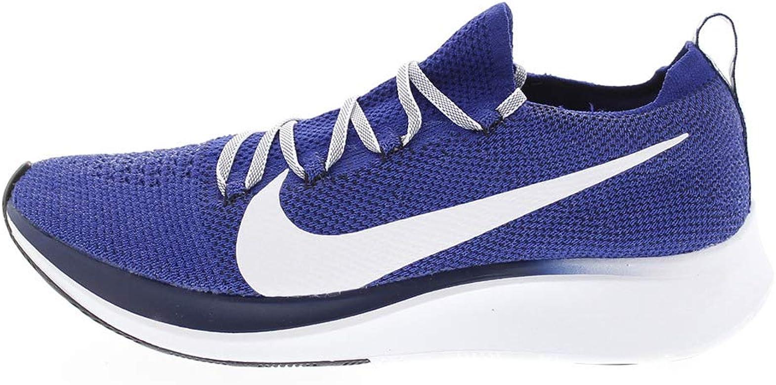Nike Zoom Fly FK, Zapatillas de Running para Hombre, Azul, Blanco, 46 2/3 EU: Amazon.es: Zapatos y complementos