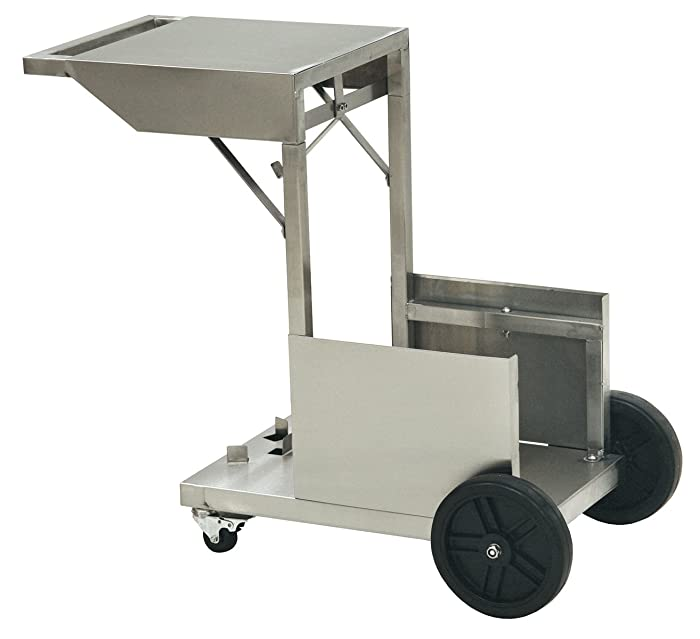 Bayou Classic 700-185, Accessory Cart for Bayou Fryer Holds 4-gal