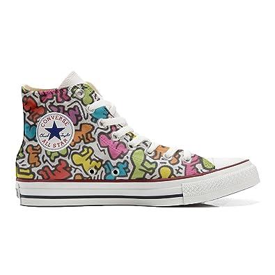 Converse All Star Zapatos Personalizadas Unisex (Producto Artesano) Life stilizzato: Amazon.es: Zapatos y complementos