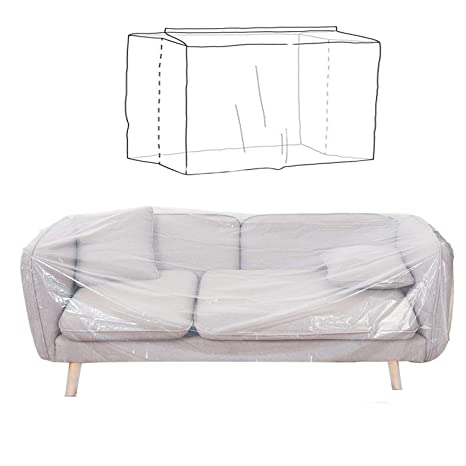 Amazon.com: AKEfit - Funda de plástico para sofá de interior ...