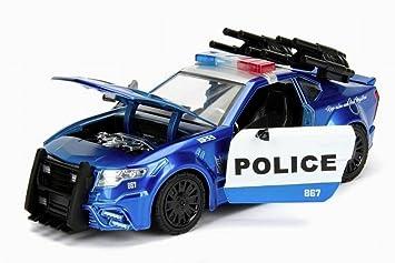 Police Au Du Transformers Barricade Voiture 5 124Amazon 2016 Film htdsQr