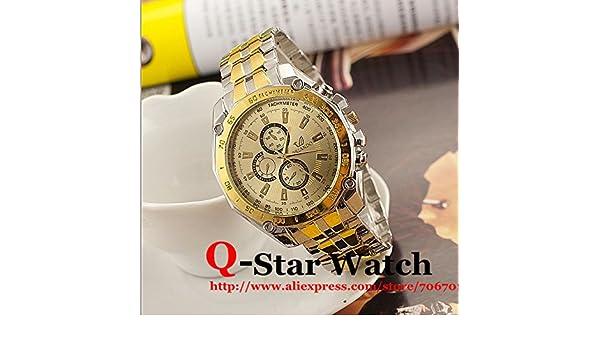 Marca Orlando Cuarzo Relojes Hombre Business Dorado Relojes ...