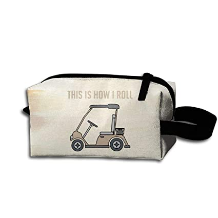 a337d5926340 Amazon.com: Mortimer Gilbert This Is How I Roll Golf Cart Funny ...
