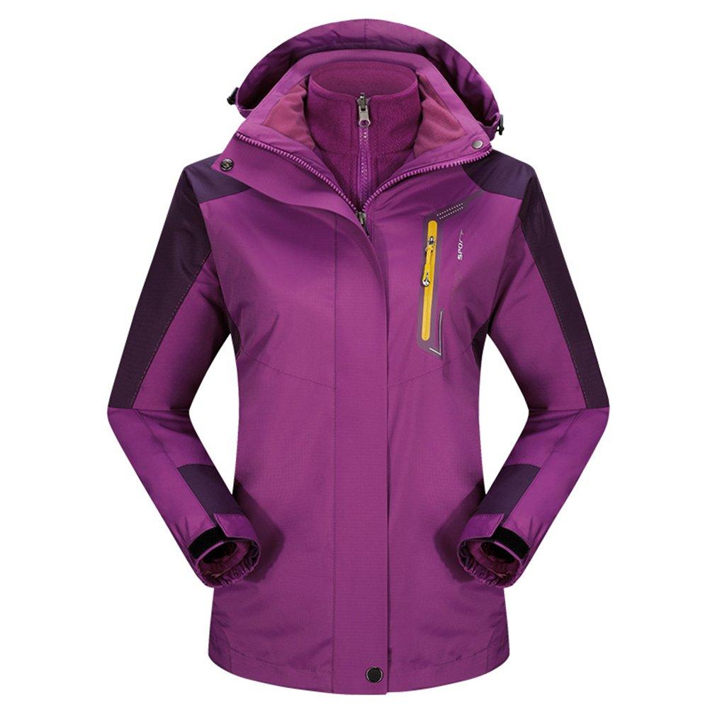 Winter Thick Fleece Twin Set Snow Ski Warm Jacket Coat Outdoor Wear Top
