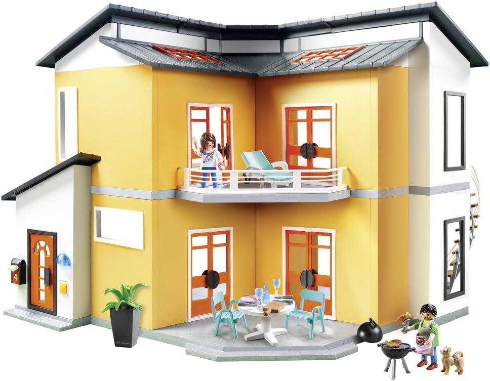 PLAYMOBIL City Life Casa Moderna, con Efectos de Luces y Sonido, a ...
