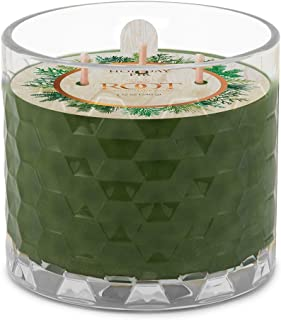 product image for Root Candles 3-Wick Honeycomb Scented Beeswax Blend Candle, 12-Ounce, Holiday Fir