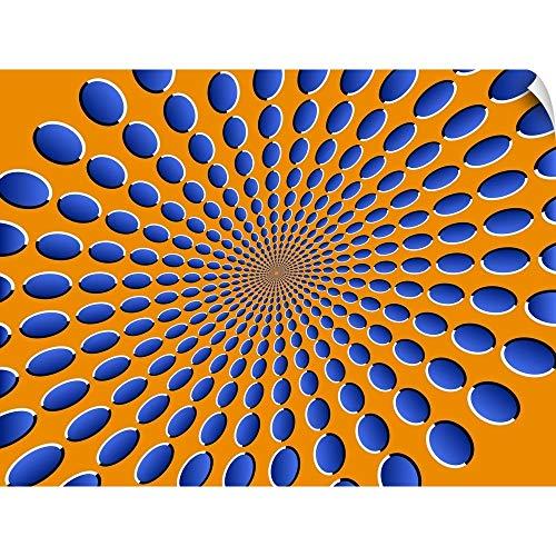 CANVAS ON DEMAND Michael Tompsett Wall Peel Wall Art Print Entitled Optical Illusions Pods 16