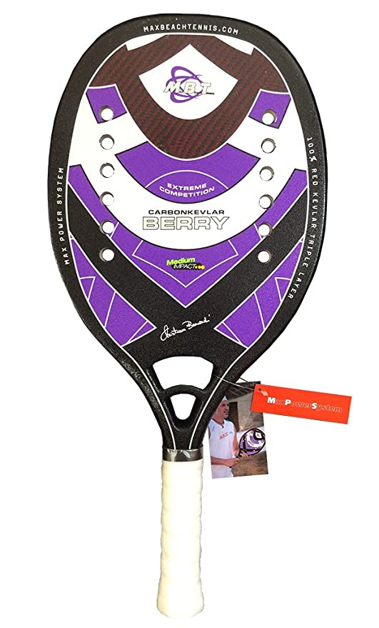 bcee9fc0edd3 MBT Racchetta Beach Tennis Berry 2014  Amazon.it  Sport e tempo libero