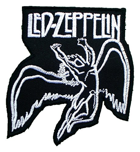 Patches Led Zeppelin (1 X Led Zeppelin Songs Music t Shirts Symbols ML05 Iron on Patches)