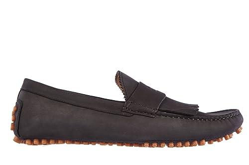 Gucci Mocasines en Piel Hombres Eugene Negro EU 42 337066 AIX00 1000: Amazon.es: Zapatos y complementos