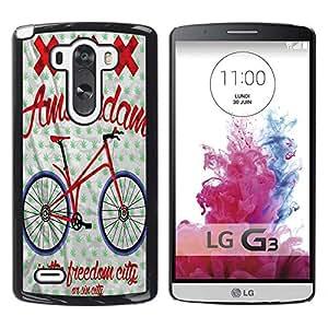 Dragon Case - FOR LG G3 - is the freedom city - Caja protectora de pl??stico duro de la cubierta Dise?¡Ào Slim Fit