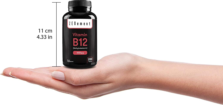 Vitamina B12 Metilcobalamina 1000 µg, 200 Comprimidos | Ayuda al ...