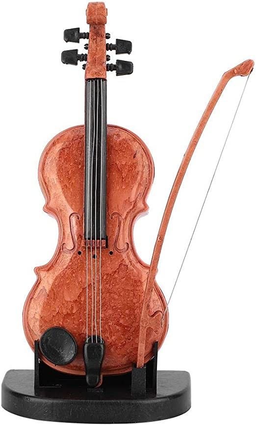 Hongzer Caja de música para violín, Mini Caja de música de plástico Preciosa Caja de música con Forma de violín Juguete de Regalo para niños de cumpleaños: Amazon.es: Hogar
