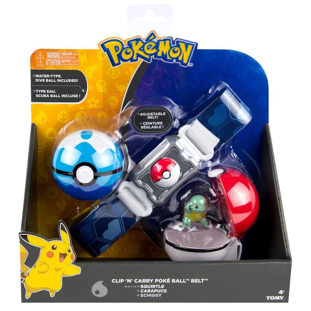 Rocco Juguetes t18889d – Pokemon Clip N Carry Poke Ball Belt, Colores Surtidos